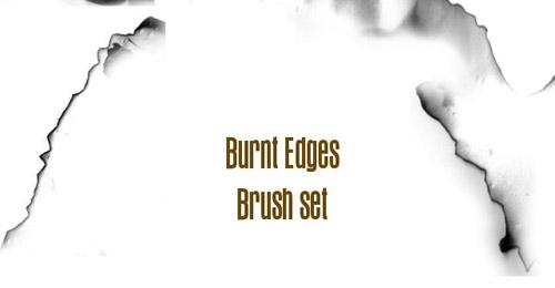 Burnt Edges brush set