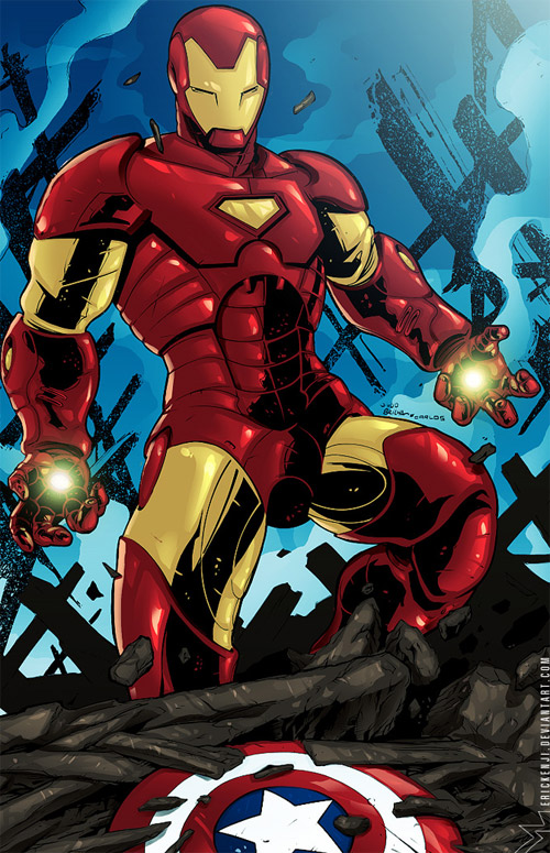 weird iron man