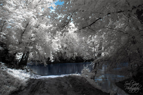 Infrared River Photography