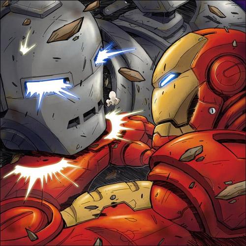 Iron Man book