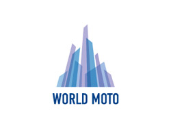 World Moto blue logo