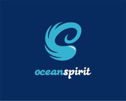 Ocean Spirit Blue Logo