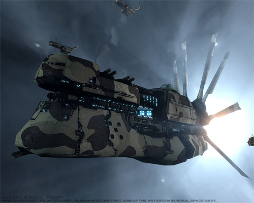 dawnstar ship illustration