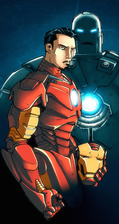 Kid Notorious Iron Man