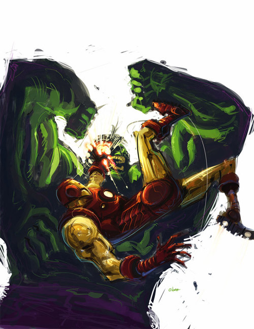 Iron Man and The Hulk