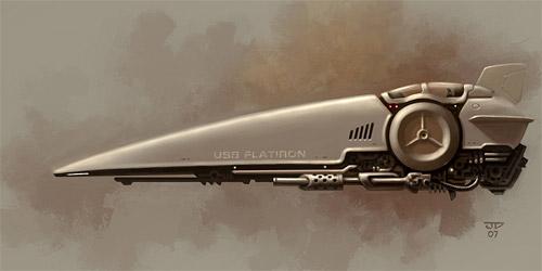 USS flatiron illustration