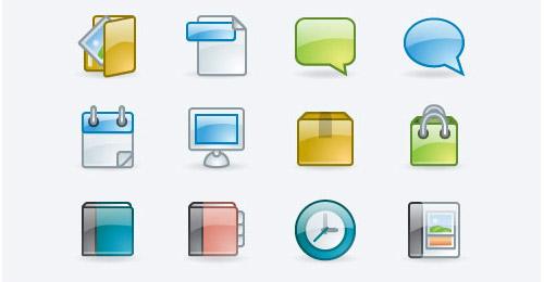 free shiny icons