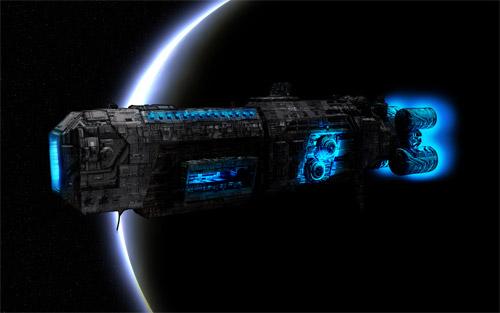 ogame spaceship wallpaper