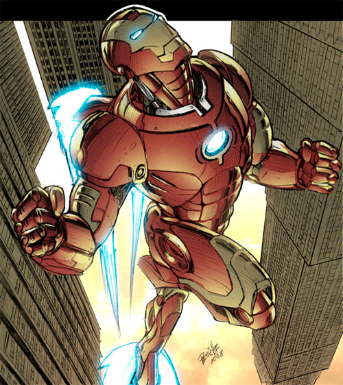 Iron Man Color