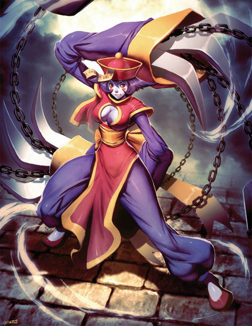 hsien ko darkstalkers tribute