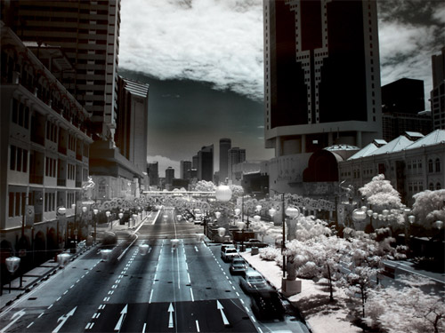 china infrared photo