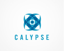 Calypse Blue Logo Design