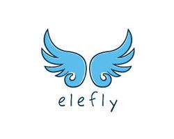 Ely Fly Blue Logo