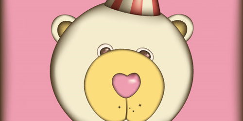 cute teddy bear illustrator