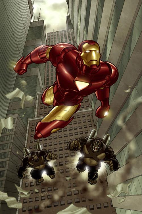 iron man chase
