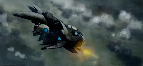 little dragon spaceship