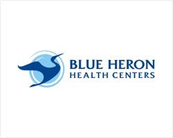Blue Heron identity logo