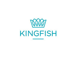 King Fish Blue Logo