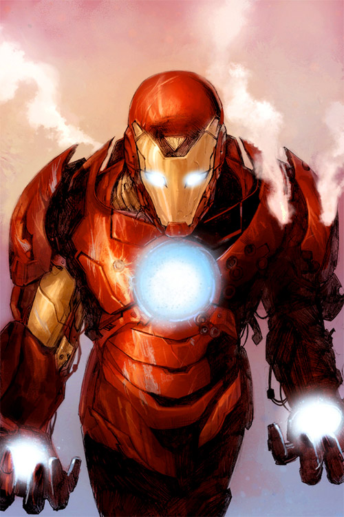 iron man smoke