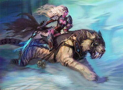 night elf death knight