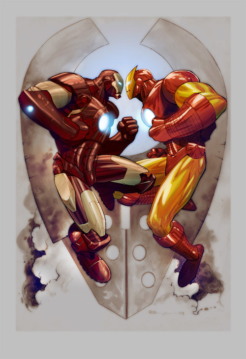 twin iron man