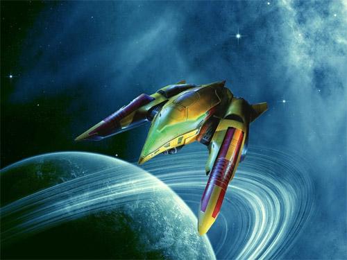 samus ship illustration
