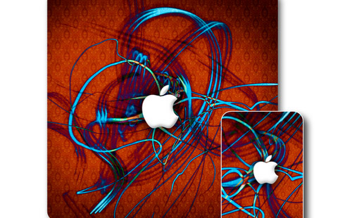 iPad Electric Wallpaper