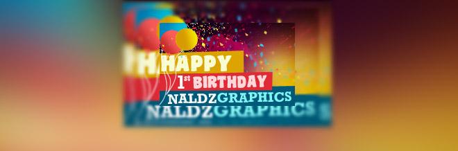 Naldz Graphics Turns One Year Old + Amazing Giveaways