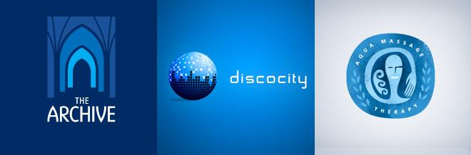 50+ Unique and Inspiring Blue Logo Designs