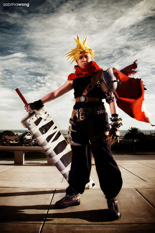 cloud kingdom hearts cosplay