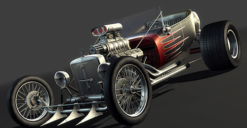 Video Game Hot Rod 3d Ma