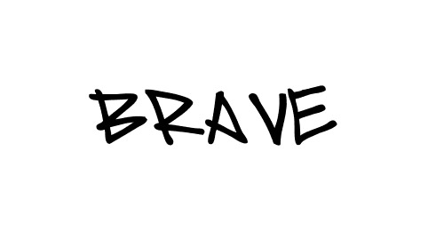 graffiti thin font