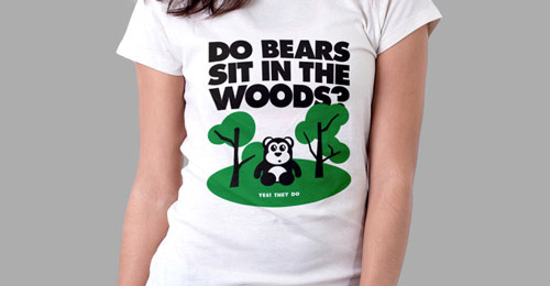 vector bear t shirt design