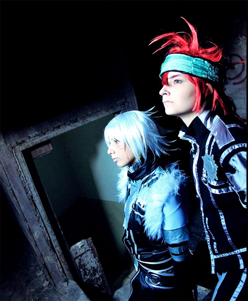 allen and lavi cosplay