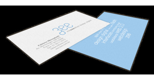 creating new business card
