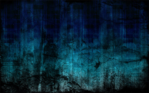 Grunge Blue wallpaper