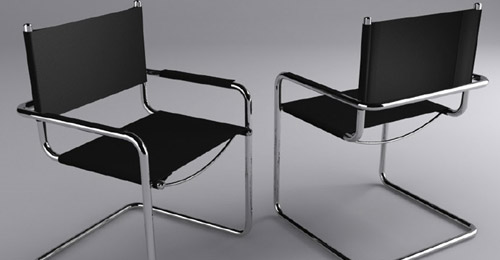 3d max Chair Modeling