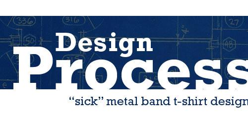 metal band t shirt tutorial