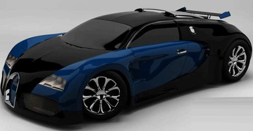 Vehicle Rendering 3d max