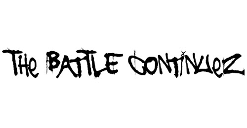 the battle continuez graffiti