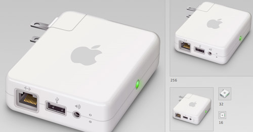 airport express psd