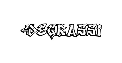 degrassi graffiti font