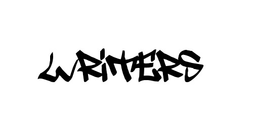 writers graffiti font