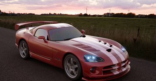 3d max Photorealistic Car Render