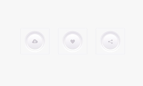 light buttons psd freebie