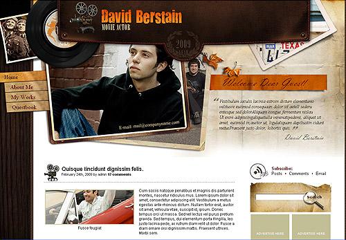 Actor WordPress theme