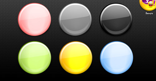 freebie psd buttons