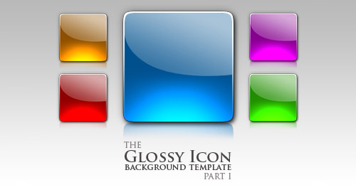 gloss button template