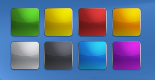 apple buttons psd