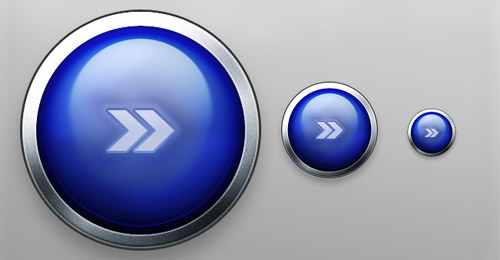 metallic free buttons